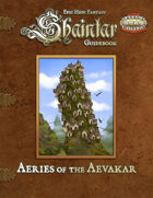 Shaintar Guidebook: Aeries of the Aevekar