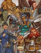 Shaintar: Thundering Skies Pre-Gen Characters