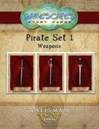 Gamescapes: Story Cards, Pirates Set 1