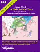 Sword Breaker Issue No. 3 - A Walk Around Town