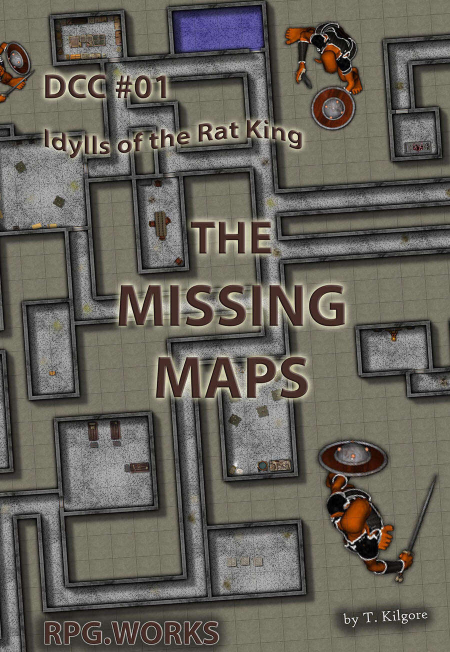 DCC 01 - The Missing Maps