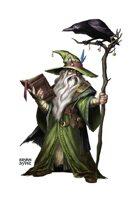 Wizard Dude - RPG Stock Art