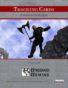 Tracking Cards: Stances & Maneuvers