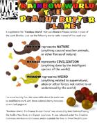 Rainbow World: The Peanut Butter Planet