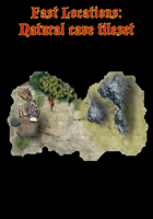 Fast Locations: Natural cave tileset