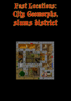 Fast Locations: City Geomorphs, slum district