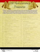 100 Non-currency Treasures