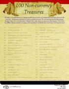 100 Non-currency Treasures