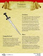 Treasure: Cursed Sword