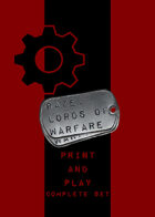 RAZE: Lords of Warfare P&P -- Complete Set