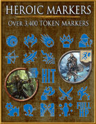 Heroic Markers: Blue