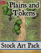 Plains and Tokens - Stock Art