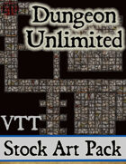 Dungeon Unlimited - Stock Art