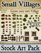 Small Villages - Stock Art