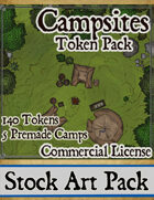 Campsites - Stock Art