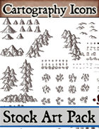 Cartography Icons Pack - Stock Art