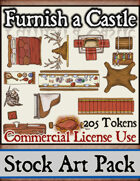 Furnish a Castle - Stock Art