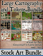 Large Cartography and Tokens Bundle [BUNDLE]