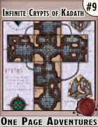 Infinite Crypts of Kadath - One Page Adventure