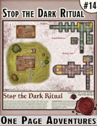 Stop de Dark Ritual - One Page Adventure