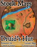 Druid's Hut - Stock Map