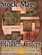 Hidden Crypt - Stock Map