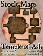 Temple of Ash - Stock Map