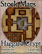 Haggard Crypt - Stock Map