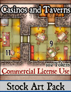 Casinos and Taverns - Stock Art