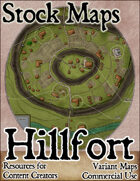 Hillfort - Stock Map