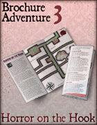 Brochure Adventure 3 - Horror on the Hook