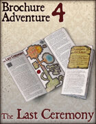 Brochure Adventure 4 - The Last Ceremony