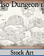 Isometric Dungeon No. 1 - Stock Map