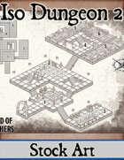 Isometric Dungeon No. 2 - Stock Map