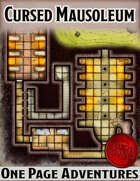 The Cursed Mausoleum - One Page Adventure