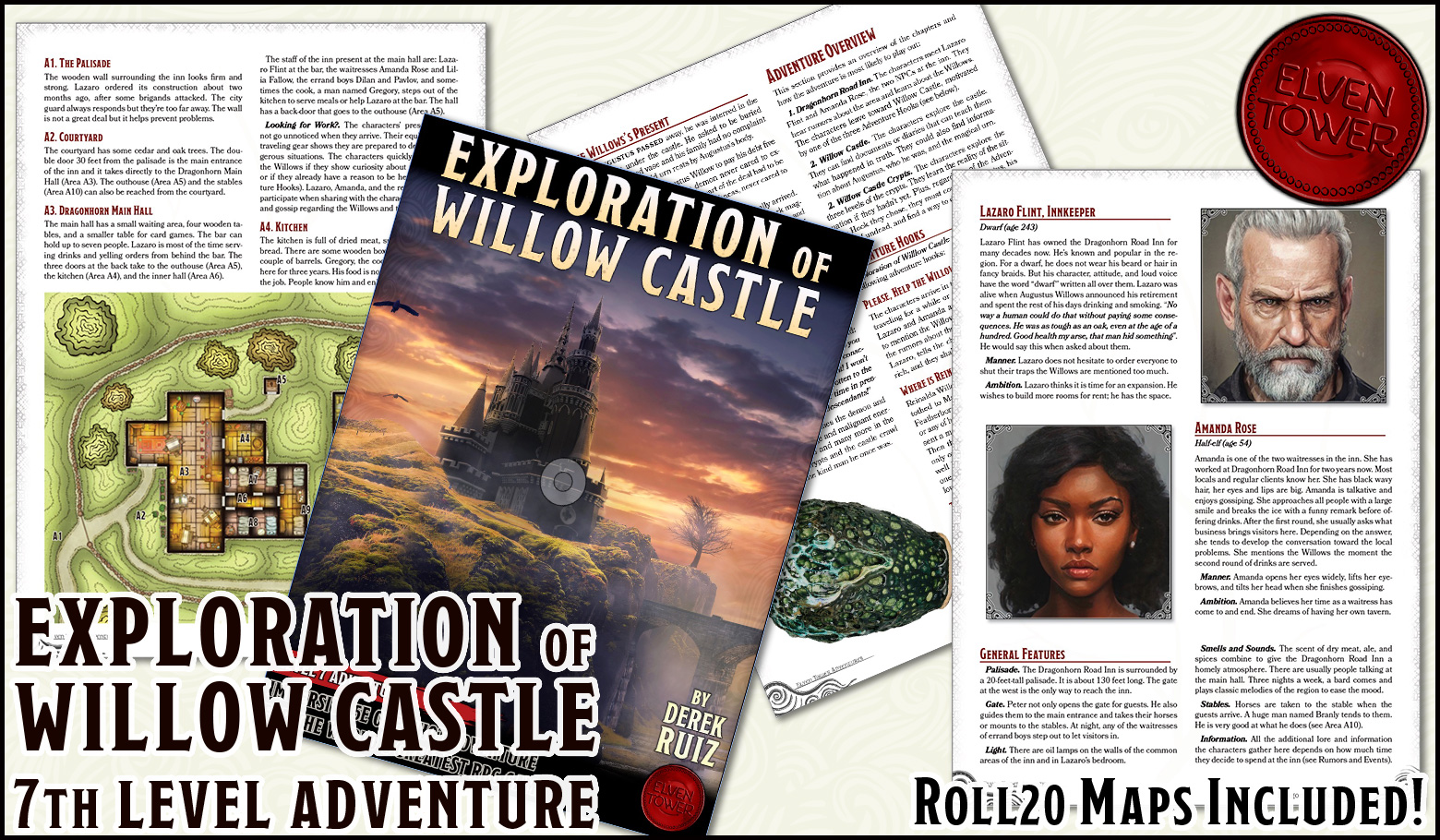 H_-_Exploration_of_Willow_Castle_-_promo