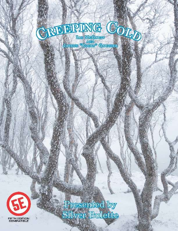 Creeping Cold 5E Version