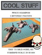 Pirate Squadron Paper Model