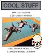 Pirate Squadron Paper Model