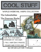 Medieval map 10: The Indomitables
