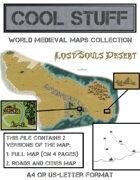 Medieval map 07: Lost Souls Desert