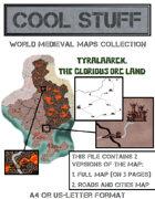 Medieval map 25: Tyralaarck