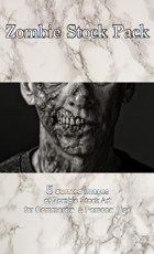 Zombie Stock Art Pack