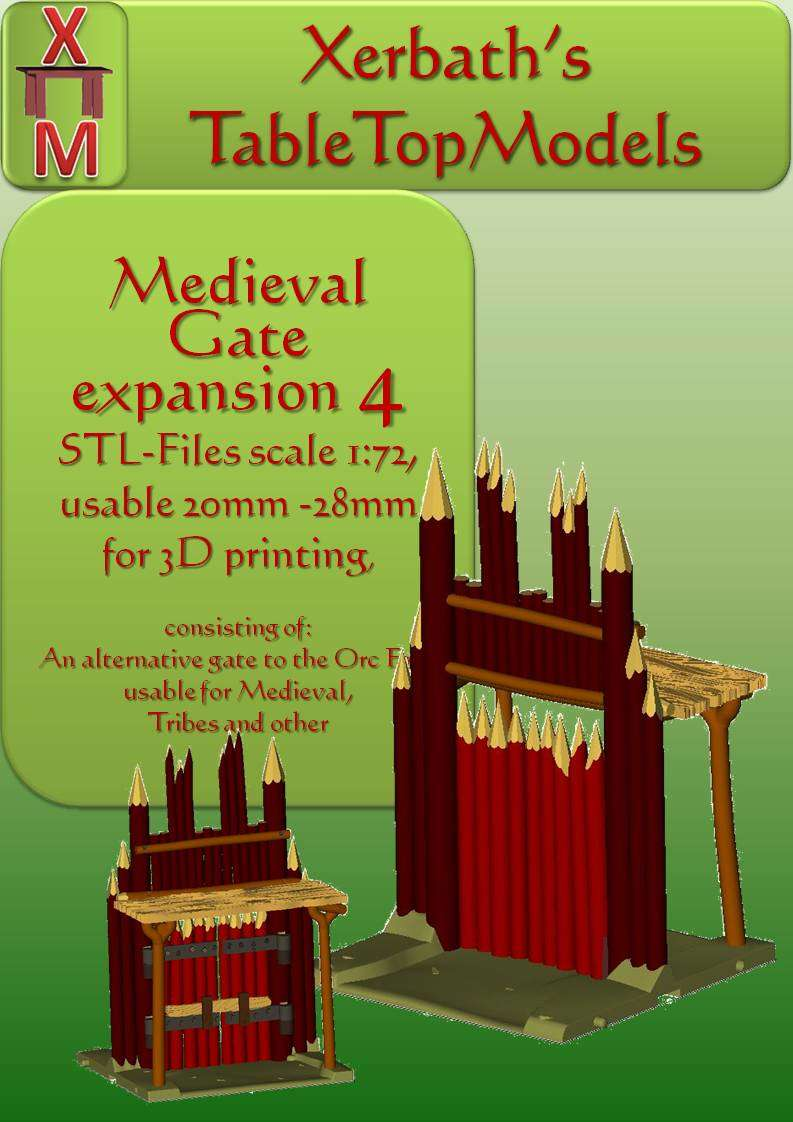Medieval  Gate expansion 4