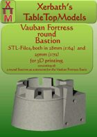 Vauban Fortress bastion round