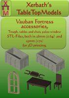 Vauban fortress accessories