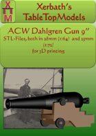 ACW Dahlgren Gun 9in