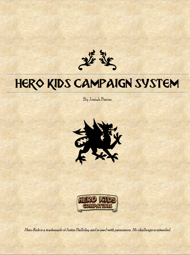 Campaign System - Hero Kids Compatible