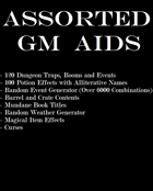 Assorted Generic GM Aids [BUNDLE]
