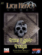 The Last Tomb: Expert Series 1
